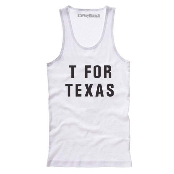 T For Texas Women's Racerback Tank
