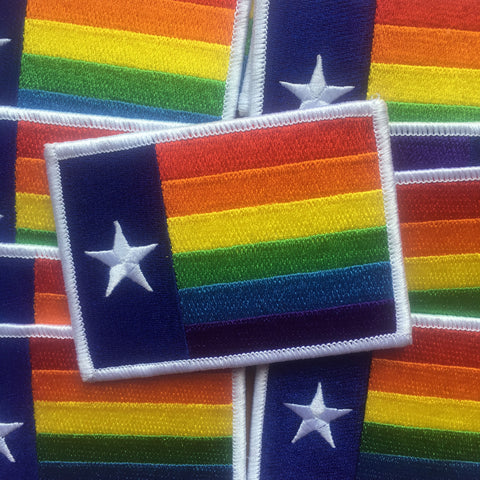 Equality Texas Iron-on Patch