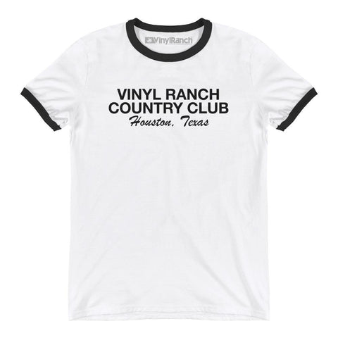Vinyl Ranch Country Club Ringer Tee by Vinyl Ranch
