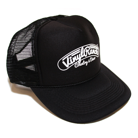 Country & Disco Trucker Hat - Black