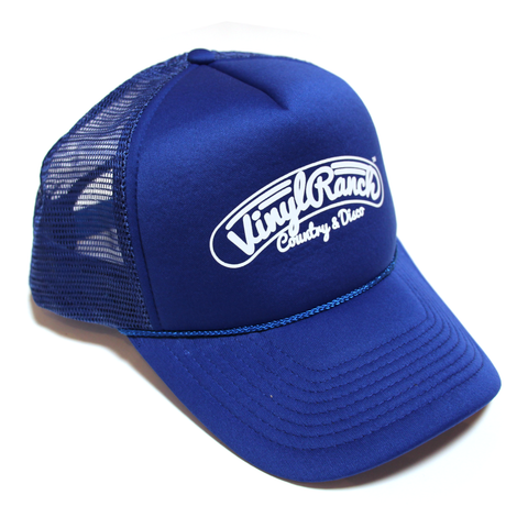 Country & Disco Trucker Hat - Blue