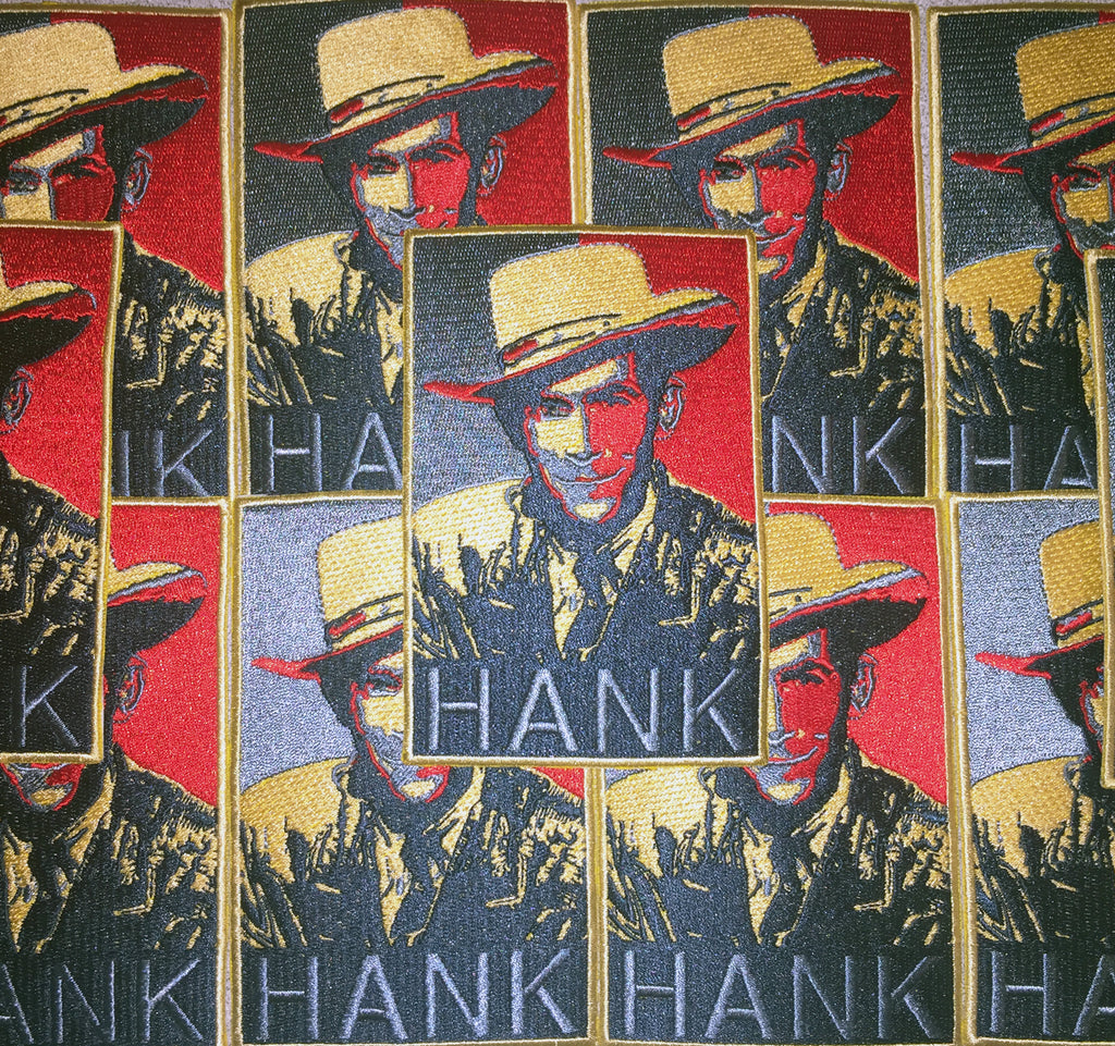 HANK Iron-on Jumbo Patch