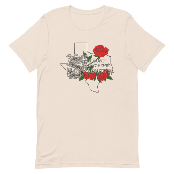 Sweet Mother Texas Red Rose Unisex T-Shirt