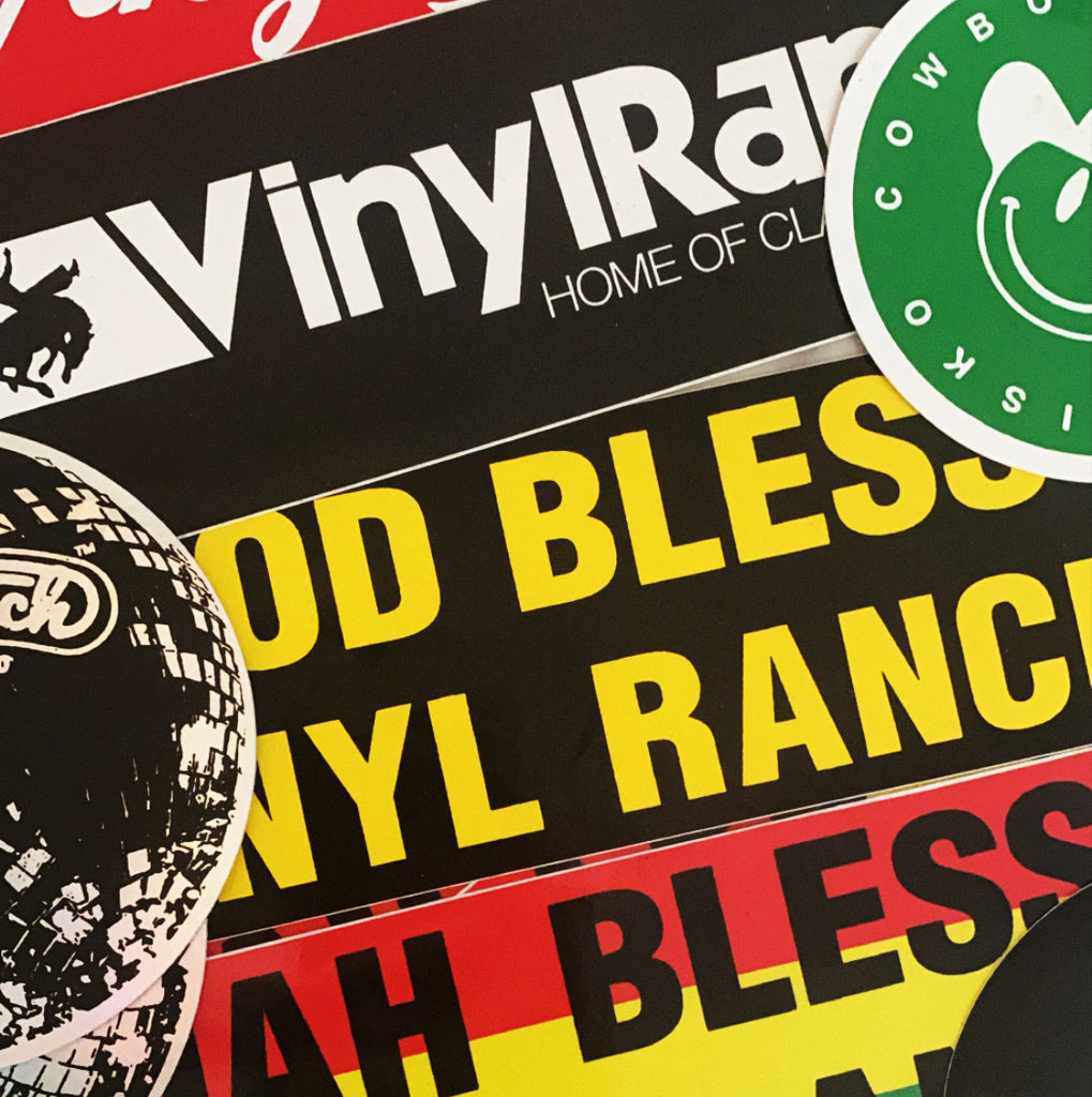 Vinyl Ranch Sticker Pack