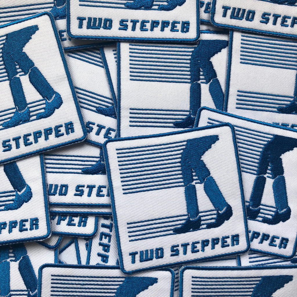 Two Stepper Iron-on Patch