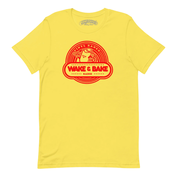 Wake & Bake Ketchup and Mustard Unisex Tee