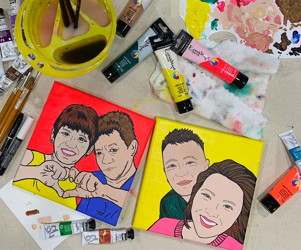 Pop Art Painting Workshop