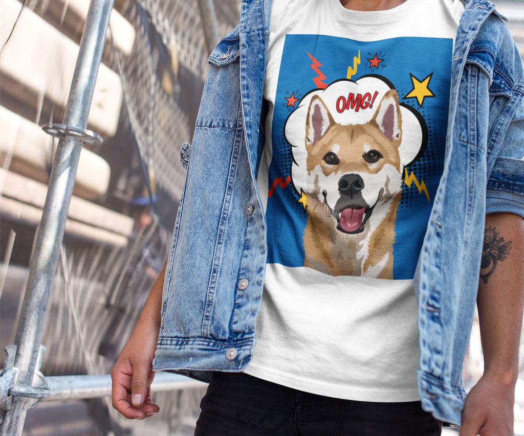 Custom Pet Portrait Tshirt