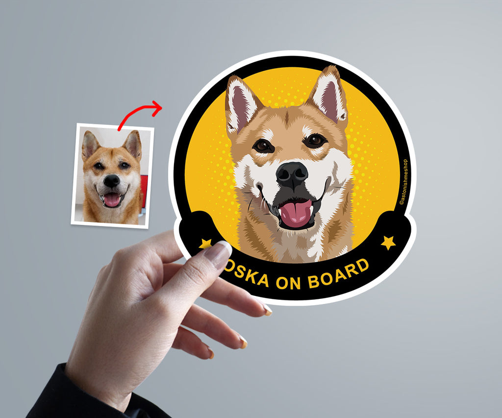 Add-ons, Custom Pet Car Decal Sticker