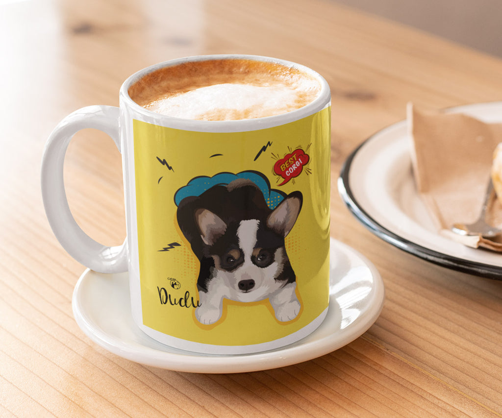 Coffee Mug 11 oz, Single Pet