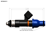 Injector Dynamics ID725 Injectors