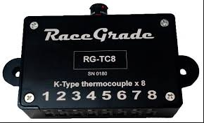 MoTeC RaceGrade TC8 (Thermocouple to CAN Module) - Motorsports Electronics