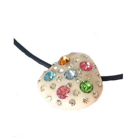 MULTICOLORE BRILLANT - Vintage Pendant Necklace