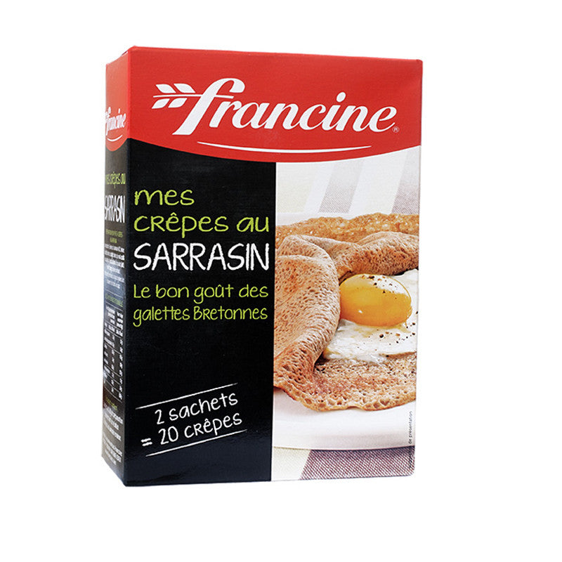 Francine Instant Buckwheat Crepes Mix- Sarrasin