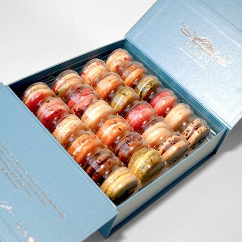 Haneul Box 24 count French Macarons - The Winter Assorted