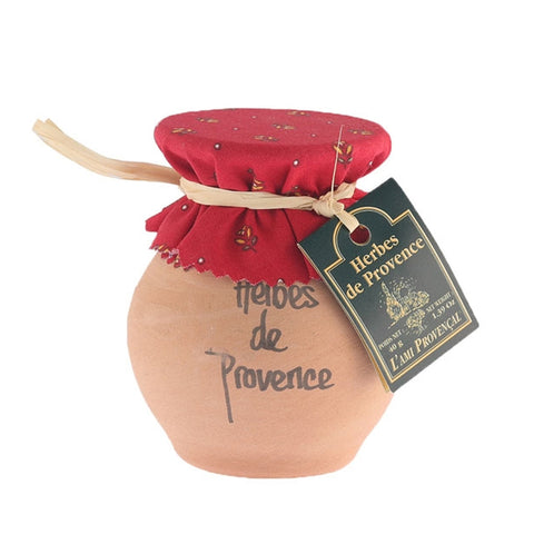 Provence Herbs in Crock Jar from France