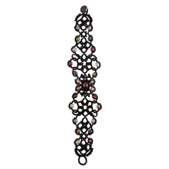 Lace Black Bracelet by French Designer Lorina