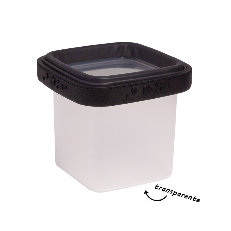 Lucie Black BOX - Lightweight Food Storage Container
