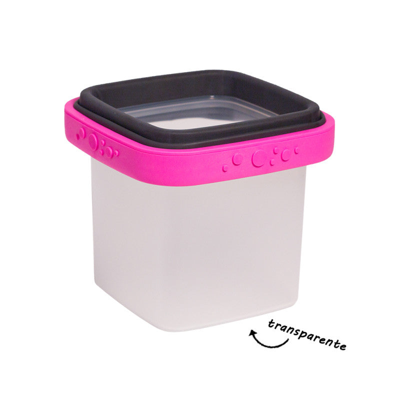 Lucie Pink BOX Lightweight Food Storage Container French Design
