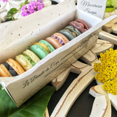 French Macaroon Soap Box - Assorted Colors