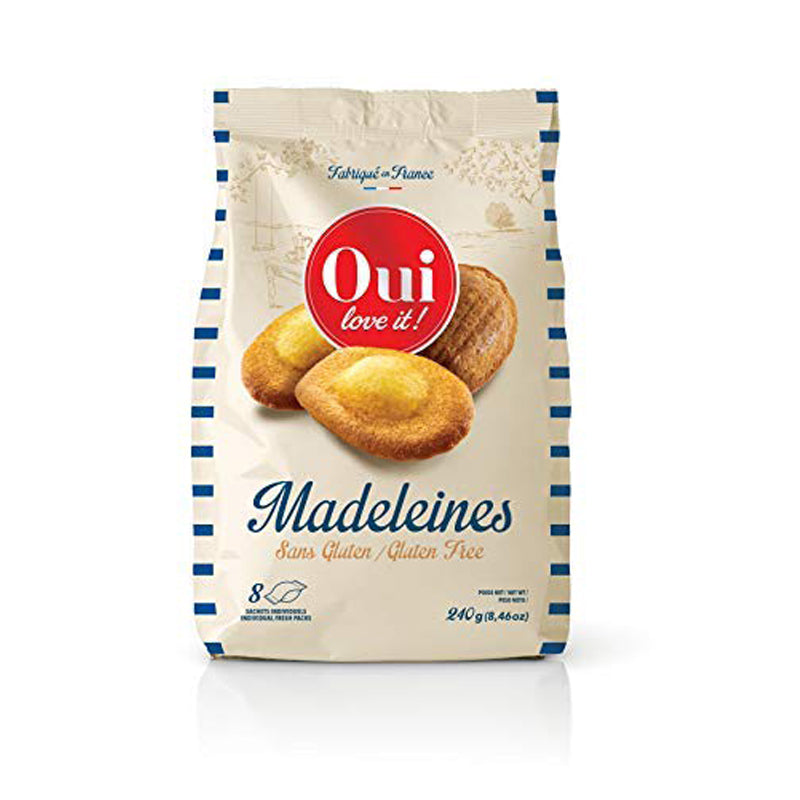 Madeleines Gluten Free by Oui Love It