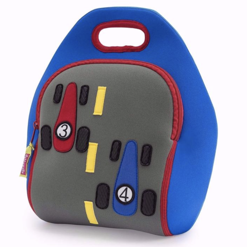 Race Car Kid's Lunch Bag | Avenue Petit Lou