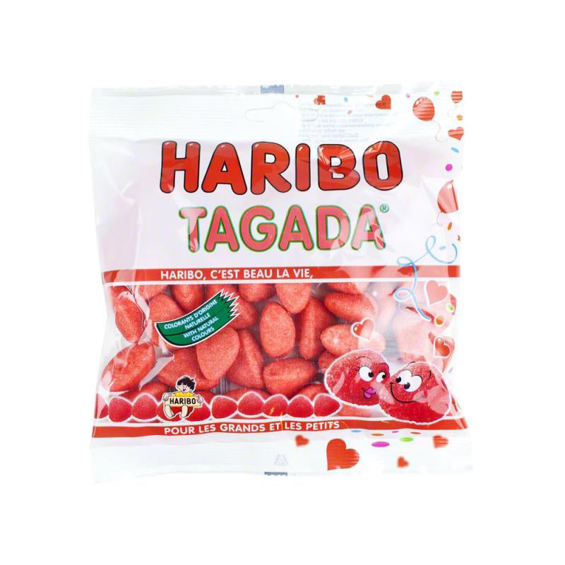 French Strawberry Tagada Candy from Haribo - 4.2 oz