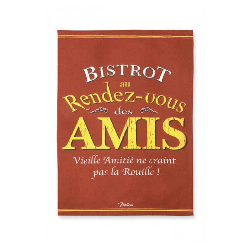 Kitchen - French Towel Bistrot des amis