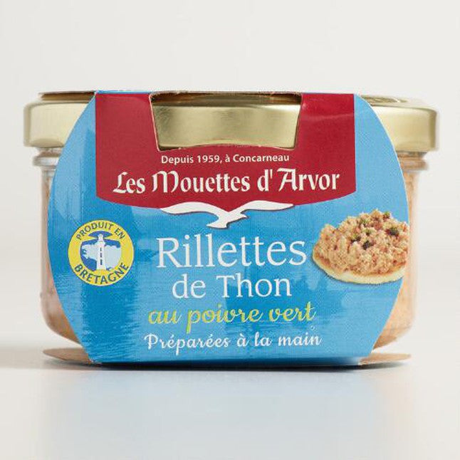Tuna Rillettes w/ Green Peppercorn by Mouettes D'Arvor  4.4 oz (125g)