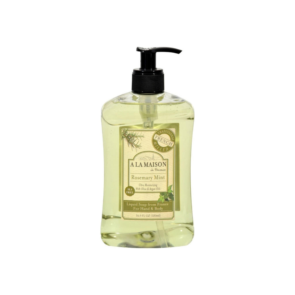 Liquid Soap Rosemary Mint - A La Maison de Provence