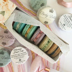 Individual French Macaroon Soap - Assorted Colors