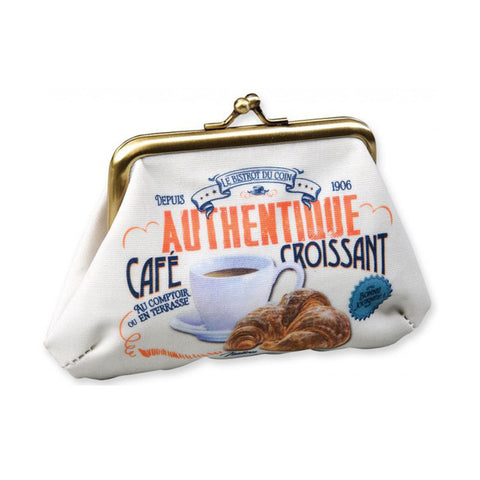 Shopping - Cafe Croissant coin purse
