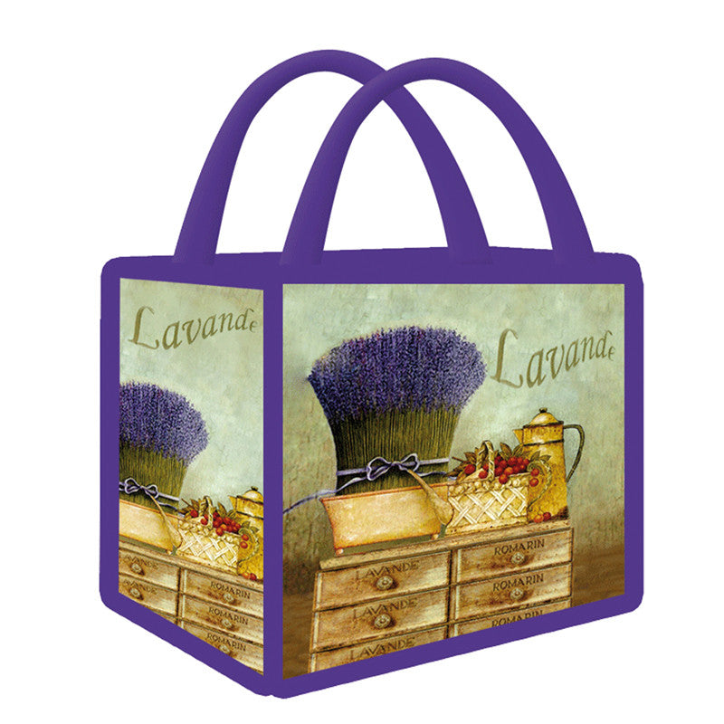Shopping -  Lavender Bunch Totebag