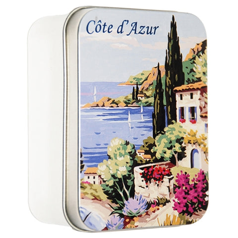 Lavender Soap in Cote d'Azur Metal Tin