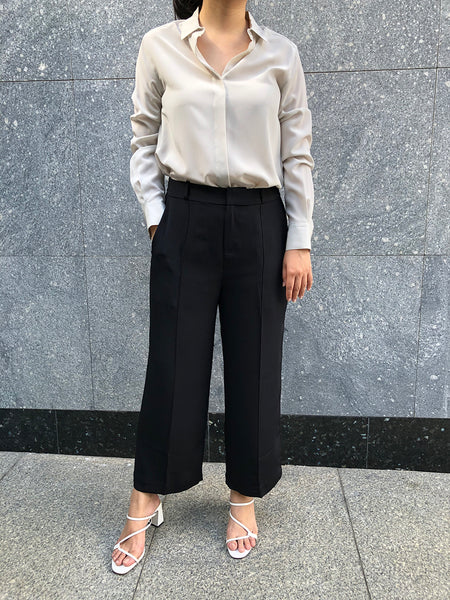 silk blouse, silk shirt, silk pants, silk trousers