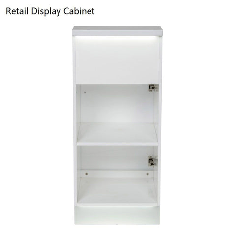 DIR Reception Desk Janus 4888-Optional Side Retail Display Cabinet