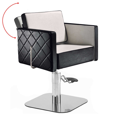 Salon Ambience CH/101 Square Reclining Styling Chair ...