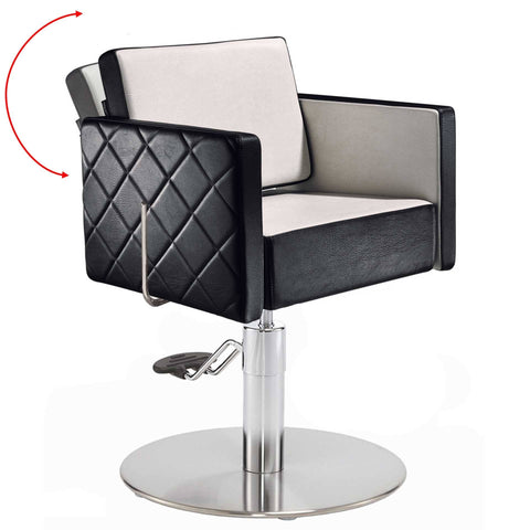 Salon Ambience CH/101 Square Reclining Styling Chair