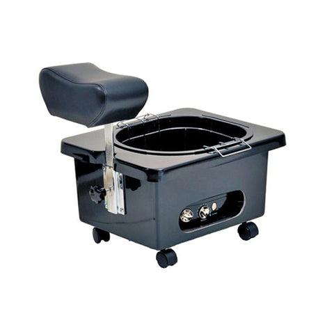 PIBBS DG105 FIBERGLASS PORTABLE FOOTSIE PEDICURE SPA