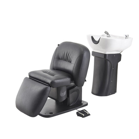DIR Shampoo Backwash Unit Optimus-Electrical reclining backrest 7111