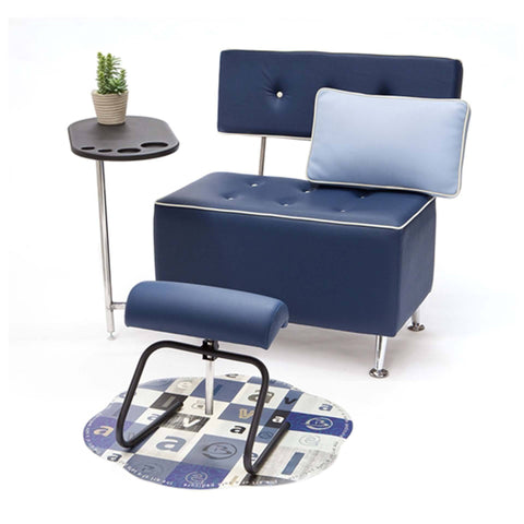 Belava Salon Chair - Seater