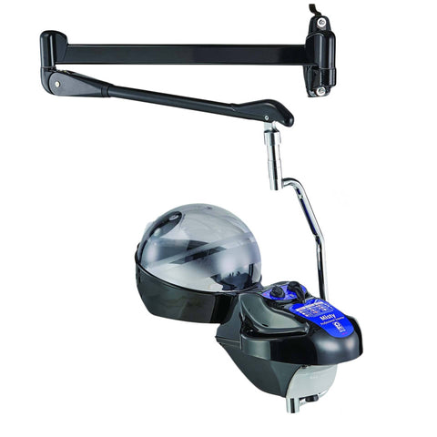 PIBBS 133 MISTY HAIR STEAMER W/ WALL ARM