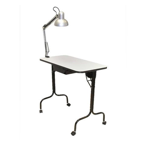 Pibbs 974A Portable/Folding Manicure Table