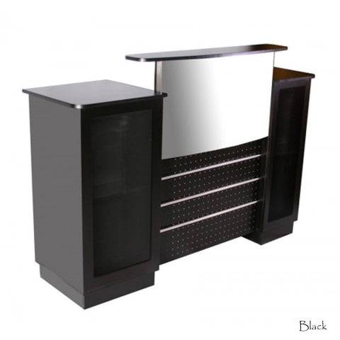 Deco Salon Mandy Reception Desk Showcase