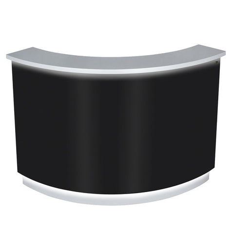 DIR LED Lighting Reception Desk Janus-Curved L-Shaped 4888