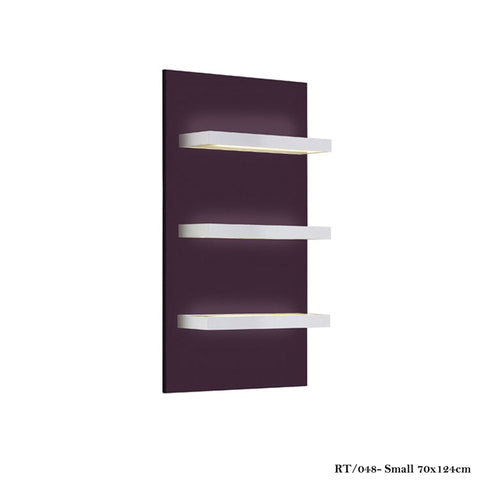 Salon Ambience RT/048 Rainbow Product Display Panel-Vertical