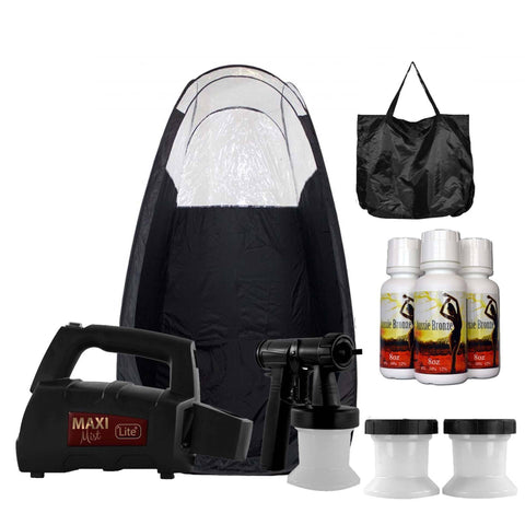 MaxiMist Lite Plus Spray Tanning System with Tent