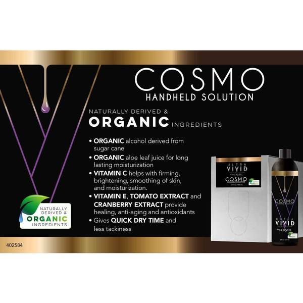 Norvell Uvc Cosmo Light Organic Based Solution 34 Oz Box