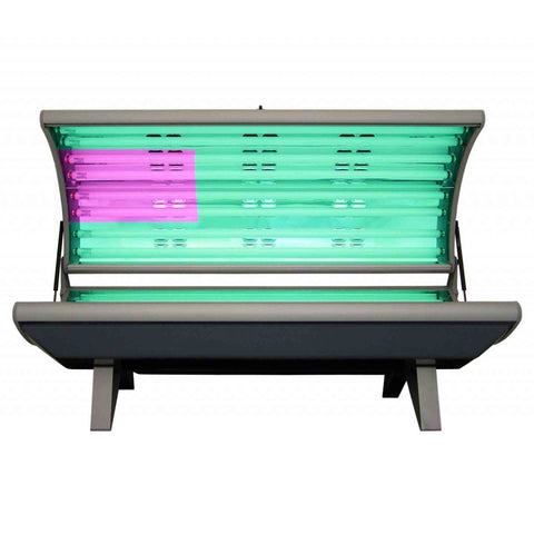 ESB Elite 16F Tanning Bed With Face Lamps