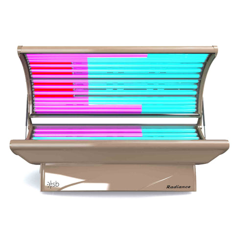 ESB Timeless Beauty (Radiance) 26 Tanning Bed Front Open
